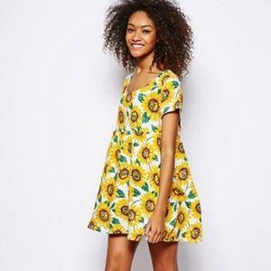 American Apparel Sunflower Dress